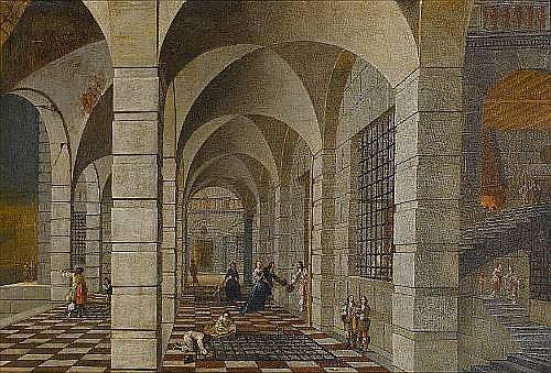 Wilhelm Schubert van Ehrenberg (Antwerp 1630-1676) and Hieronymous Janssens (Antwerp 1624-1693)