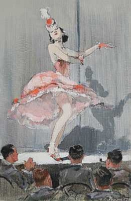 William H. Barribal (British, active 1919-1938) The Dancer