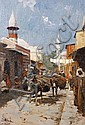 John Gleich (German, born 1879) An Arab street, John Gleich, Click for value
