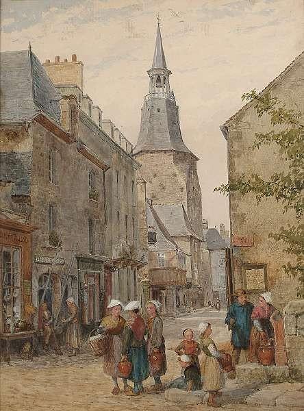 Louis Absolon (British, fl.1872-1889)