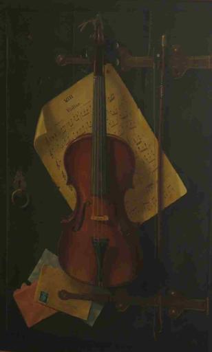 Brian Davies-(British, born 1942)-'Violine'