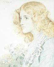 Portrait of Gertrude, the artist's daughter