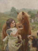 Alfred William Strutt, RCA, RBC, ARE (British 1856-1924)