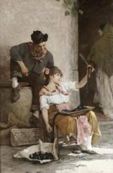 Alessandro Zezzos (Italian 1848-1914)