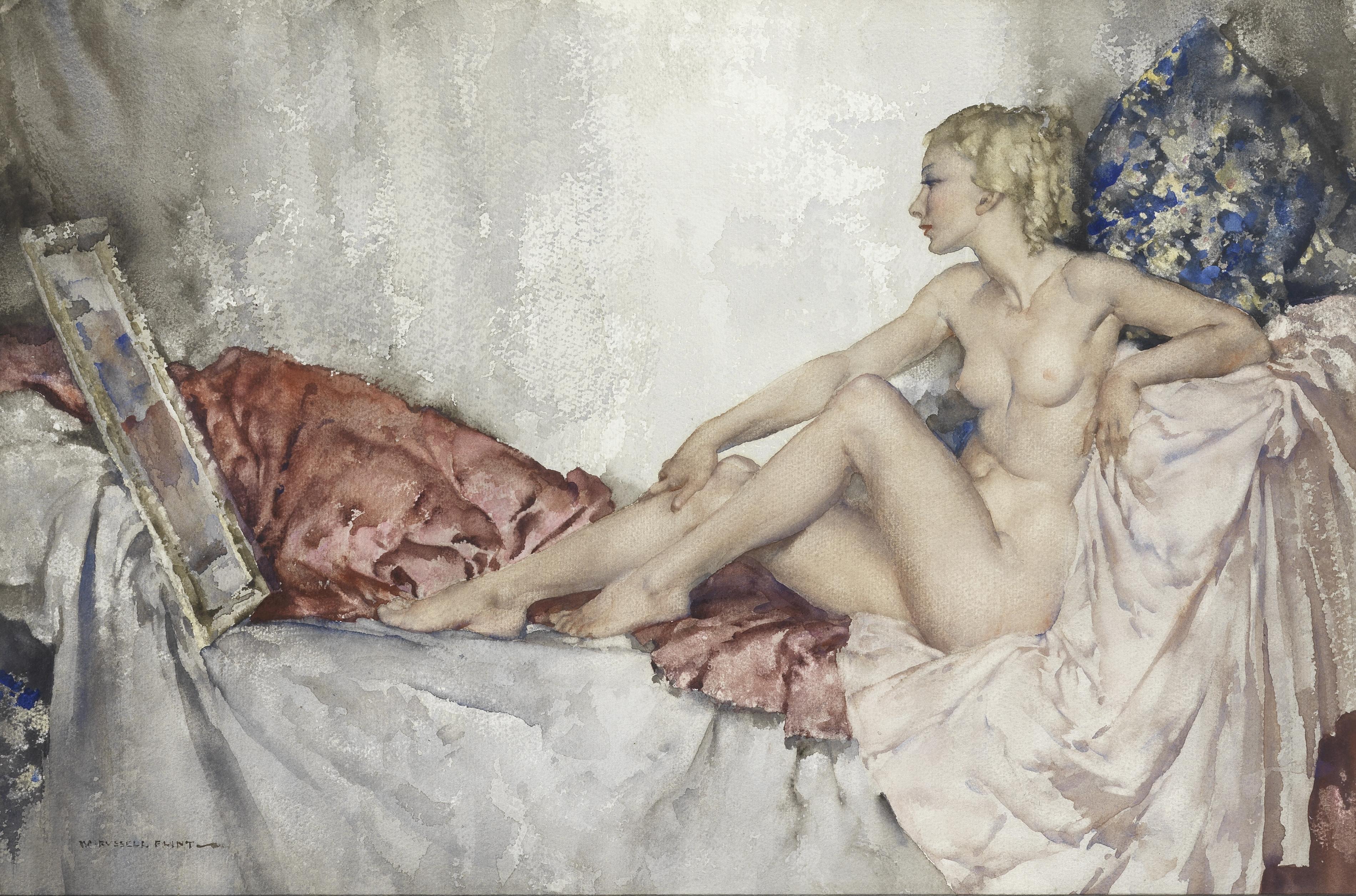 Sold Price: William Russell Flint (1880-1969) British