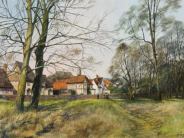 Clive Madgwick (British, 1934-2005) Chelsworth