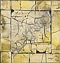 David Hazelwood (British, 1932-1994) 'Graffito No. 4', David Hazelwood, Click for value