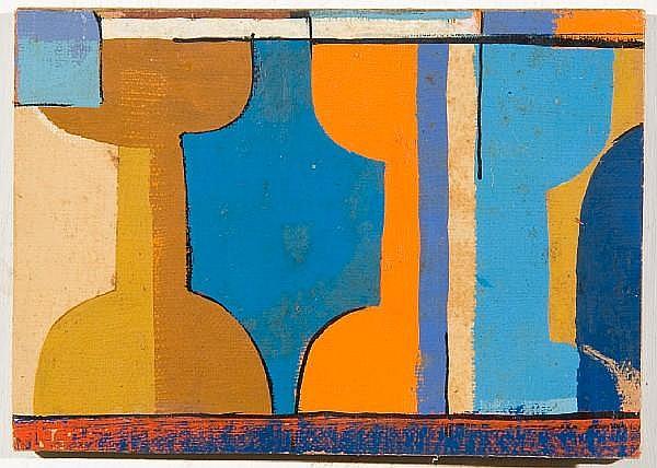 Serge Ivan Chermayeff (American, born 1900) 'Caratids'
