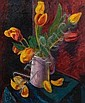 Colin Moss (British, 1914-2005) Tulips, Colin William Moss, Click for value