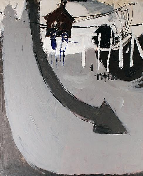 Douglas Swan (American, 1930-2000) Untitled,