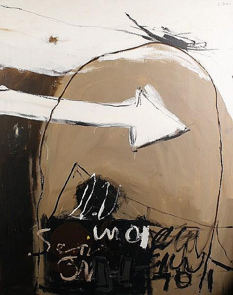 Douglas Swan (American, 1930-2000) 'Numero Quattro', 1964