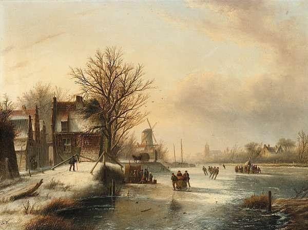 Jacob Jan Coenraad Spohler (Dutch 1837-1923)