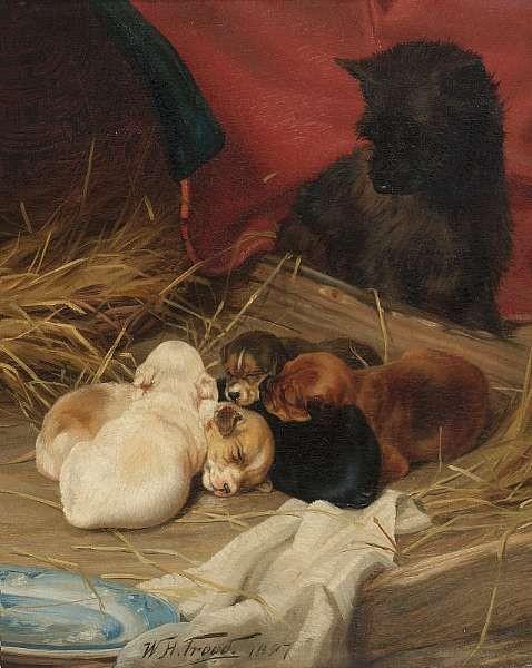 William Henry Hamilton Trood (British 1848-1899)