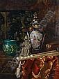Ernst Czernotzky (Czechoslovakian, 1869-1939) The Chinese shelf, Ernst Czernotzky, Click for value