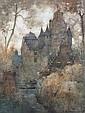 James Garden Laing, RSW (British, 1852-1915) Guarding the castle, James G. Laing, Click for value