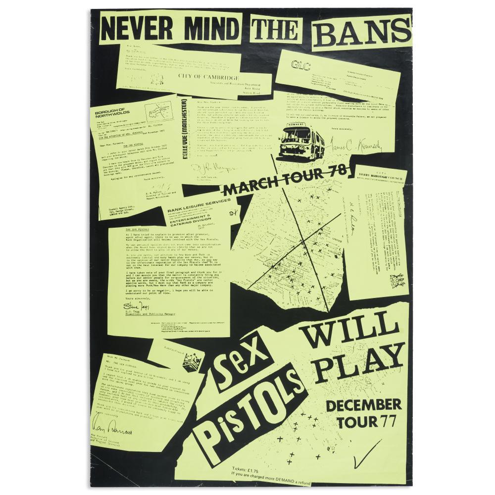 Sex Pistols: Tour Poster, 1977