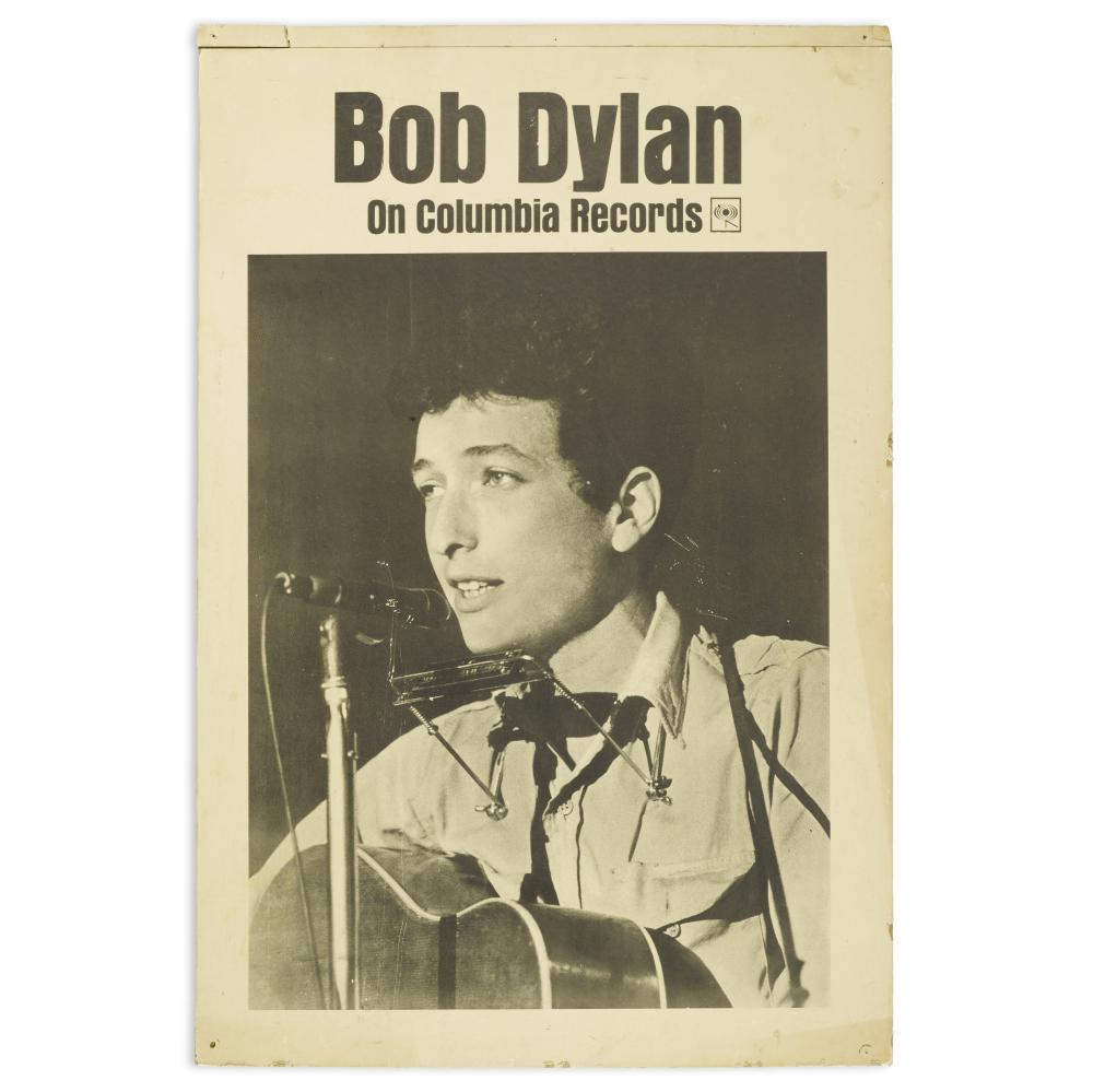 Bob Dylan: Columbia Records Countertop Standee
