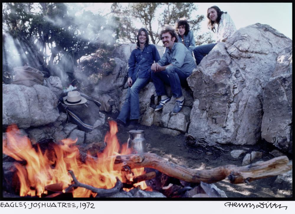 The Eagles: Photograph by Henry Diltz