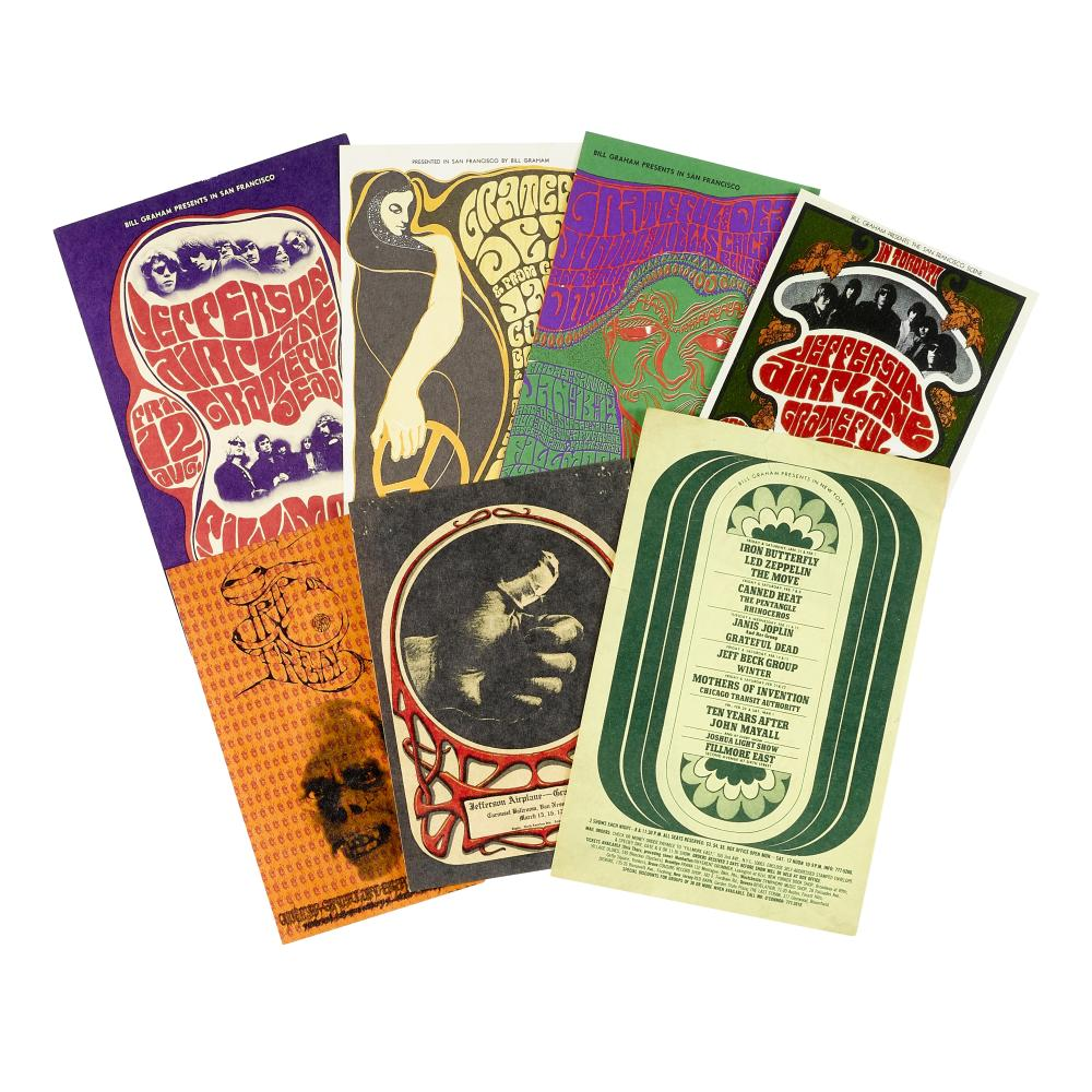 Grateful Dead and other: Psychedelic handbills