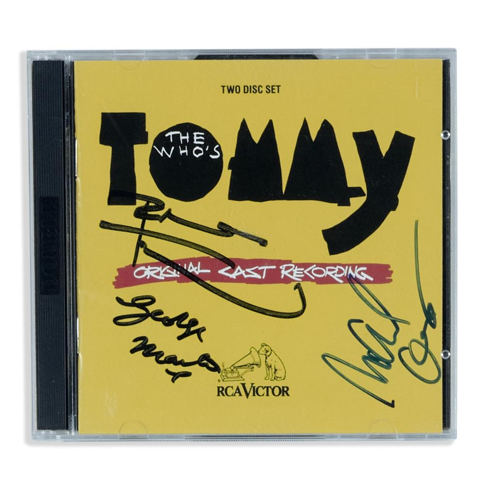 Pete Townshend and others: Signed CD Set for Tommy, Broadway Cast Recording
