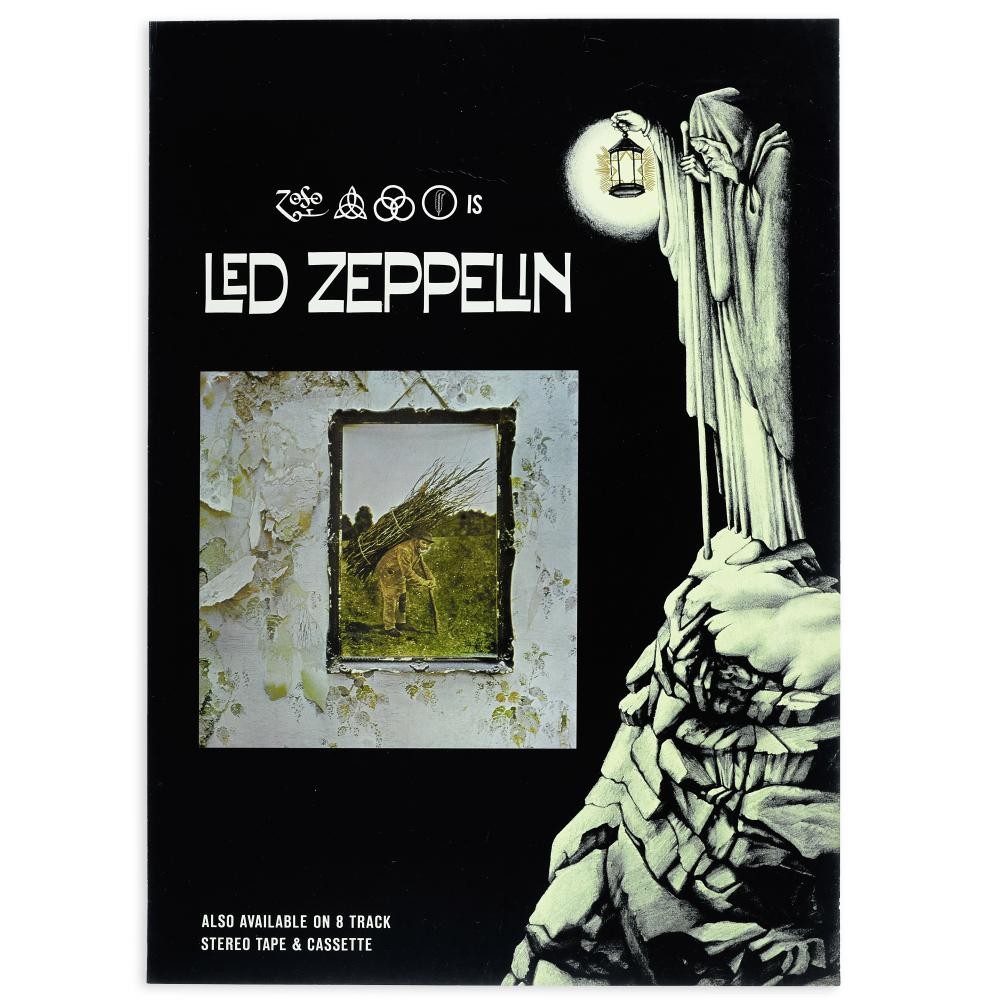 Led Zeppelin: An Atlantic Records Promotional Poster, 1973