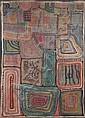 Dominique Kouas (Dominique Kouas Gnonnou) (Beninese, born 1952) Abstract composition I unframed, Dominique Kouas, Click for value