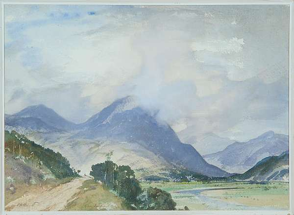 Watercolours Cecil Arthur Hunt, R.W.S. (1873-1965)