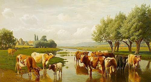William Sidney Cooper (British, 1854-1927)