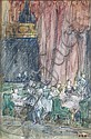 Eleanor Fortescue-Brickdale (British, 1871-1945) Theatre audience, Eleanor Fortescue-Brickdale, Click for value