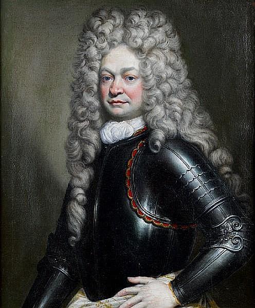 Circle of Joseph Vivien (Lyon 1657-1734 Bonn) Portrait of a gentleman,