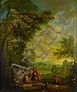 Circle of Pieter Andreas Rysbrack (Paris 1690-1748 London) Orpheus attacked by the Maenads; and Eurydice killed by a snake (2), Pieter Andreas Rysbrack, Click for value