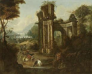 ATTRIBUTED TO WILLEM VAN DER HAGEN (ACTIVE ENGLAND, 18TH CENTURY )
