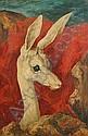 Martin Baer (American, 1894-1961) Gazelle, Martin Graphic Baer, Click for value