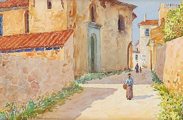 Louis German Mediterranean Harbour & Mediterranean Street scenes