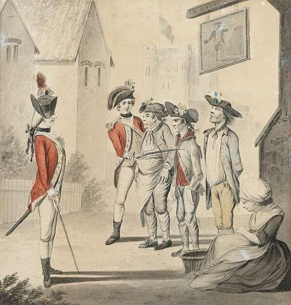 Henry William Bunbury (British, 1750-1811)