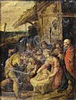 Frans Francken III (Antwerp 1607-1667) The Adoration of the Shepherds, Frans Francken, Click for value