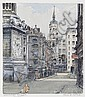 Flora H. Mitchell (Irish, 1890-1973) Fish Street Hill, Billingsgate, Flora Mitchell, Click for value