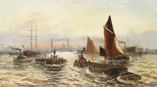 John Hayes a.k.a. Edward Henry Eugene Fletcher (British, 1857-1945)