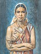 George Owens Wynne Apperley (British, 1884-1960) Aicha, George Owen Wynne Apperley, Click for value