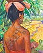 Han Snel (Dutch, 1925-1998) A Balinese beauty, Han Snel, Click for value