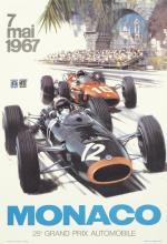 MICHAEL TURNER MONACO 25e GRAND PRIX. 1967.