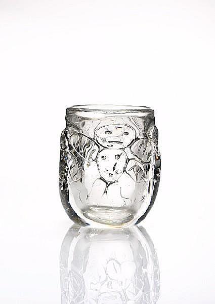 Bengt Edenfalk (Swedish, born 1924) for Iittala An art glass Vase, 1962