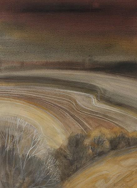 Joan Renton, RSW (British, born 1935) Beach scene