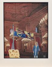 GEORGES HUGNET (1906-1974) Le gruyère (Executed in 1961)