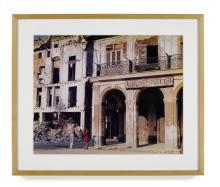 Carlos Garaicoa (born 1967) La Maravilla (La Conversación)1995-96chromogenic print, signed 'C. Garaicoa' twice and editioned 3/10 versoimage 18 3/4 x 23 1/4in (47.6 x 59.1cm); sheet 20 x 24in (50.7 x 61cm)