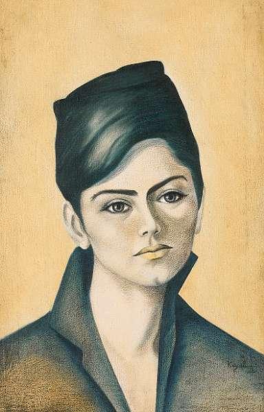 Louai Kayali (Syria, 1934-1978) Portrait