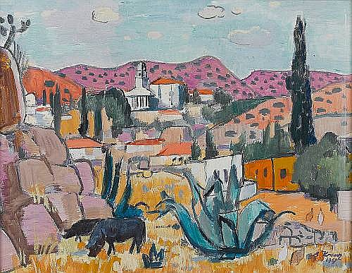 Alfred Frederic Krenz (South African, 1899-1980)
