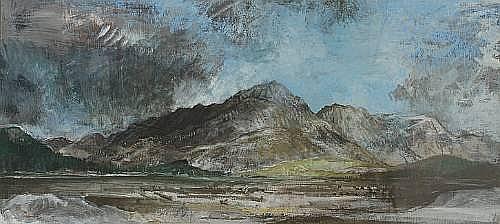 Tom Shanks RSW RGI (British, 1921) Ben Lomond