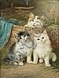 Wilhelm Schwar (German, 1860-1943) Little friends, Wilhelm Schwar, Click for value