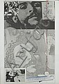 Joe Tilson RA (British, born 1928) Letter from Che Guevara Screenprint in colours with collage, 1969, on wove, signed, dated and numbered 91/100 in pencil, 1030 x 700mm (40 9/16 x 27 9/16in)(SH) unframed
